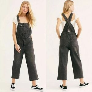 We The Free Baggy Boyfriend Overalls